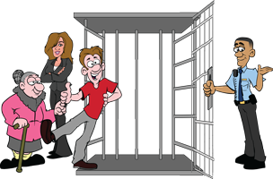 Call the most reliable bail bonds company, In and Out Bail Bonds
